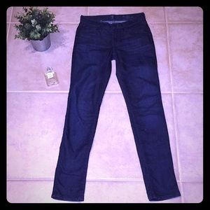 7 for all mankind Skinny Slim Cigarette Dark Jeans